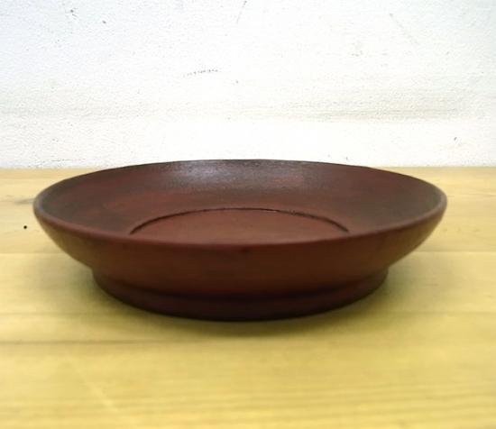 ● 赤木明登 茶托(大)/銘々皿 B 赤 輪島塗