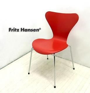 フリッツハンセン ◇ Fritz Hansen  90's 廃盤希少カラー!  『 SEVEN CHAIR / セブンチェア ( Gala Red / ラッカー )』