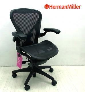 ◇ ハーマンミラー /  Herman Miller ◇ 『 Aeron Chair / アーロンチェア ◇ ( ポスチャーフィット ・ フル装備 ・ Bサイズ ) 』