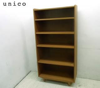● unico ウニコ ALBERO アルベロ ブックシェルフ Mサイズ チーク材