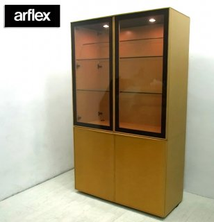 ◇Italy arflex / アルフレックス   『 COMPOSER / コンポーザー ( キュリオケース / 飾り棚 / ガラスキャビネット / ディスプレイシェルフ ) 』
