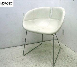 ● �ヤマギワ取扱 MOROSO モローゾ FJORD フィヨルド 本革製チェア