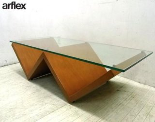 ● arflex アルフレックス モンターニャ リビング ローテーブル
