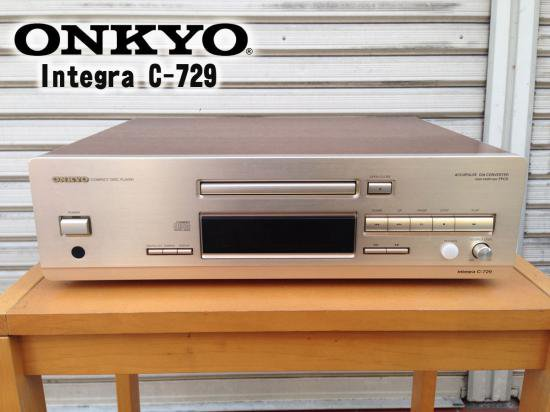 ◎ONKYO INTEGRA C-729 CDプレーヤー