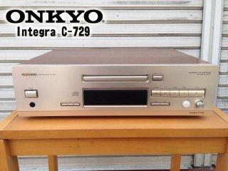 ◎ONKYO INTEGRA C-729 CDプレーヤー