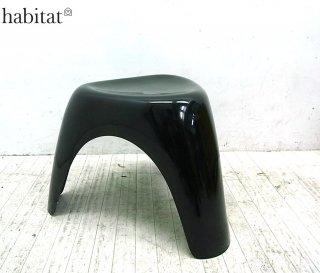 ■habitat製 柳宗理 エレファントスツール ブラック FRP