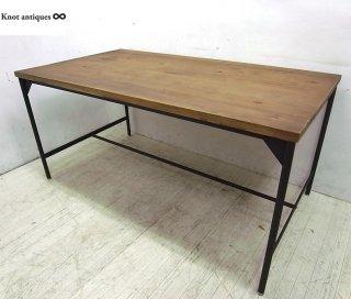 ● ノットアンティークス 古材 鉄脚 BRERAブレラ テーブル