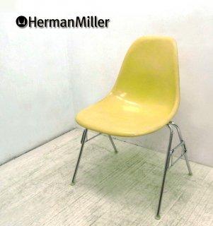 70's ヴィンテージ ★ U.S.A Hermanmiller / ハーマン・ミラー ★ 希少カラーシェル ★ 2ndモデル 『 サイドシェルチェア ( スタッキングベース = DSS )』
