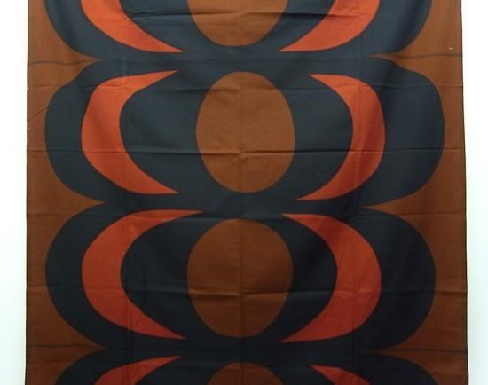 """●マリメッコ/marimekko  ヴィンテージファブリック レアカラー """"KAIVO"""" 129×161cm タペストリー"""