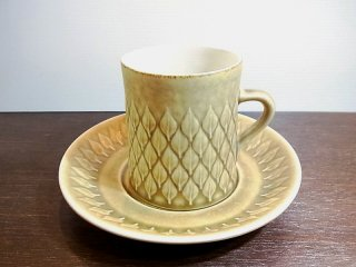 ◇KRONJYDEN / クロニーデン 『 レリーフ 』 シリーズ コーヒーカップ&ソーサー� イェンス・クイストゴー
