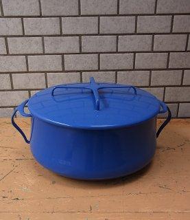 ■dansk/ダンスク Kobenstyle コベンスタイル 両手鍋 ブルー/青 ビンテージ品