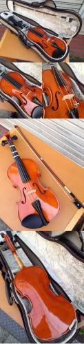 ◎ SUZUKI(スズキ) バイオリン No.280  4/1  2003年製造 廃盤品 SHIMOKURA ケース付