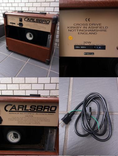 ■良品 CARLSBRO SHERWOOD BABY エレアコ アンプ 英国製