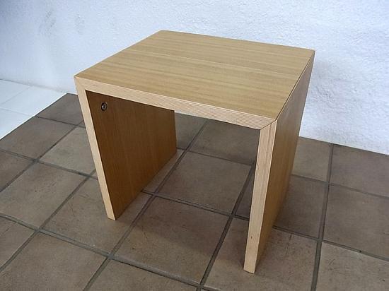 ◇ MUJI/無印良品 良品計画 タモ材 コの字型家具シリーズ 35センチ 廃盤