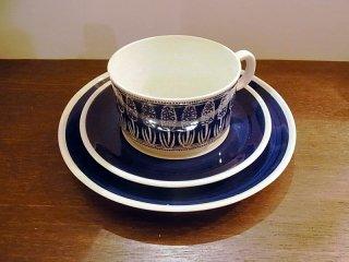 ◇ Gefle/ゲフレ hyacint/ヒヤシンス ティーカップ&ソーサー&プレート