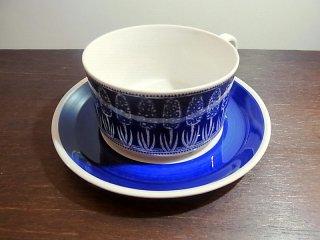 ◇ Gefle/ゲフレ hyacint/ヒヤシンス ティーカップ&ソーサー