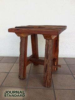 ◇journal standard Furniture ジャーナルスタンダード ファニチャー ブレダスツール 枕木 古材