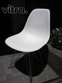 Swiss Vitra / 廃番 ヴィトラ社製 ★ C&R.Eames / イームズデザイン ★ 『 サイドシェルチェア ( エッフェルベースタイプ=DSR ) ホワイト 』