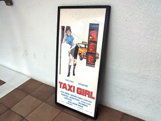 ◇ 1977s 『TAXI GIRL』 ヴィンテージ ムービーポスター イタリア