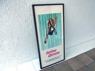 ◇ 1979s 『INTIME CAREZZE』 ヴィンテージ ムービーポスター イタリア