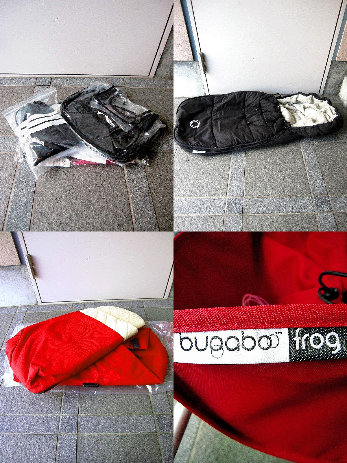 オランダ  Bugaboo ( バガブー社 ) ストローラー / ベビーカー オプション付属 『 Frog / フロッグ (レッド)』  定価総額¥164,740- ★
