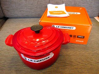 LE CREUSET /ル クルーゼ ★COCOTTE DAMOUR/ココット・ダムール★ 箱付未使用品 参考定価\31320-