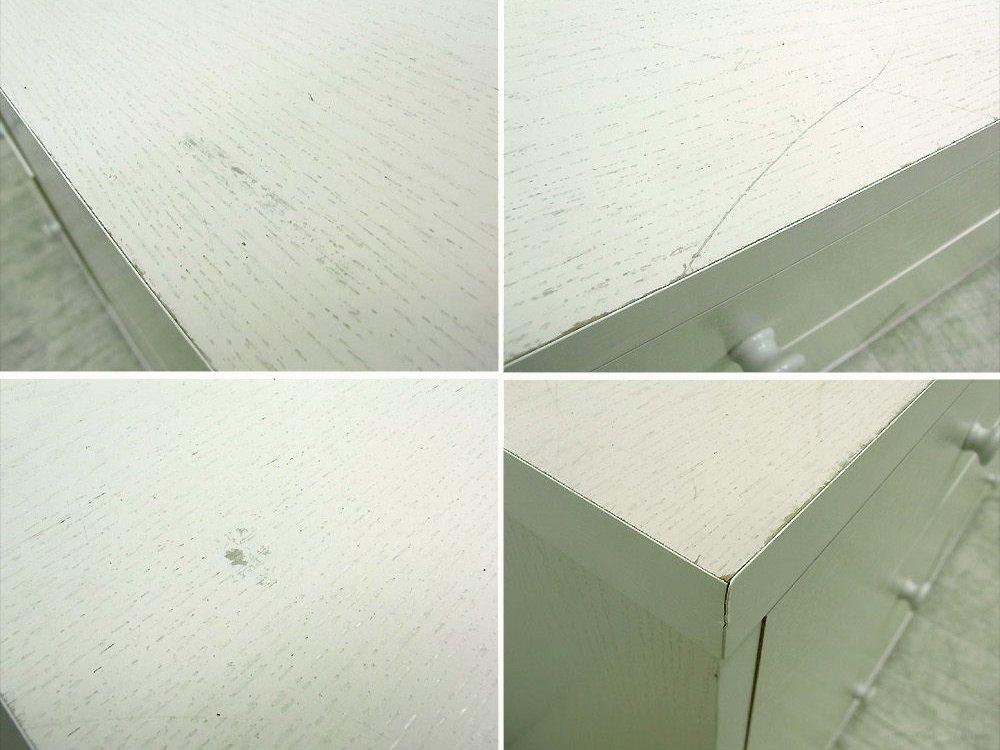 ◎経堂店 モモナチュラル Momo Natural LOVE ラブチェストパイン材 ホワイト