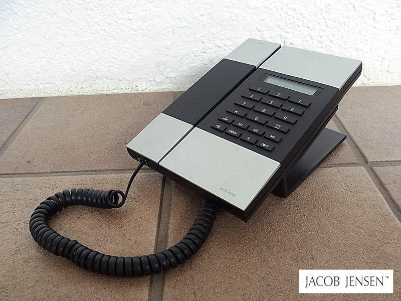 ヤコブイェンセン Jacob Jensen T-3 Telephone 美品 ♪