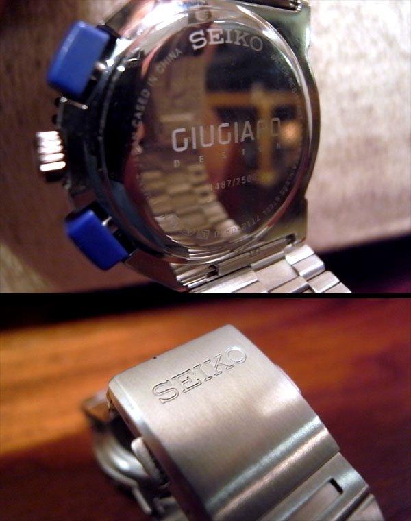 ● 美品 SEIKO セイコー ジウジアーロ 腕時計 2500本限定