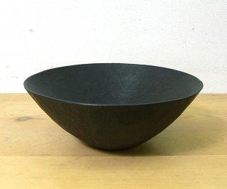 ● 三谷龍二 黒拭き漆5.5寸鉢/ボウル