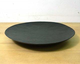 ● 三谷龍二 黒拭き漆7寸皿/パン皿 B