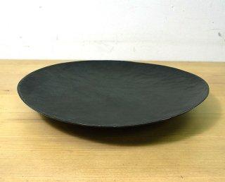 ● 三谷龍二 黒拭き漆7寸皿/パン皿 D