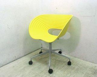 ● vitraビトラ社 トムロール キャスターチェア ロンアラッド 黄色