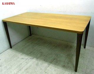 ◇ 飛騨高山 柏木工 オーク材 楢 無垢材 ダイニングテーブル w165cm