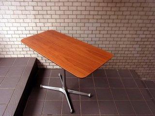 ■ モモナチュラル Momo natural カフェテーブル ウォールナット天板 Xレッグ
