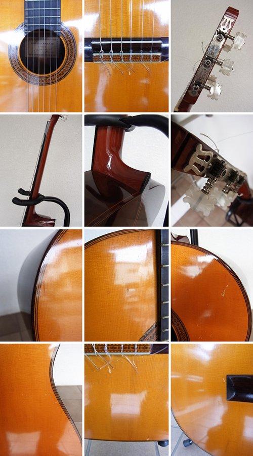 ◇中出阪蔵 SAKAZO NAKADE クラシックギター LUTHIER No.41 1969