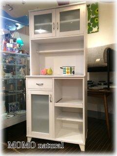 ◎経堂店 MOMO natural モモナチュラル CIELE シエル カップボード 食器棚