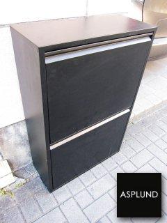 ASPLUND / アスプルンド ★ イタリア製 『 4リサイクルビン 』 ★ 希少廃番ブラックカラー
