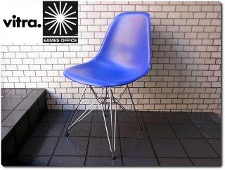 Swiss Vitra / ヴィトラ社製 C&R.Eames / イームズデザイン 『 サイドシェルチェア』 ( エッフェルベースタイプ=DSR )■