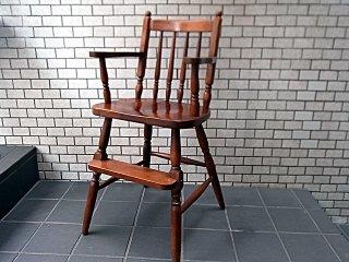 柏木工 KASHIWA ベビーチェア ハイチェア 子供椅子 飛騨 無垢 ■