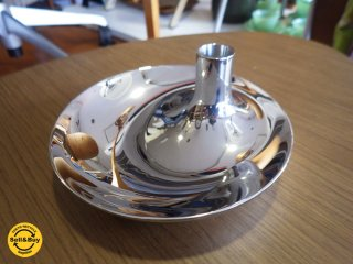 <img class='new_mark_img1' src='//img.shop-pro.jp/img/new/icons20.gif' style='border:none;display:inline;margin:0px;padding:0px;width:auto;' />Georg Jensen / ジョージ・ジェンセン キャンドルホルダー B◇