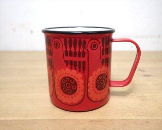 """FINEL / フィネル ホーローマグカップ """"赤い鳥"""" ♪"""