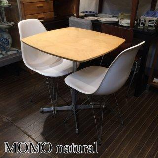 モモナチュラル MOMO natural カフェテーブル オーク材 幅68cm ◎