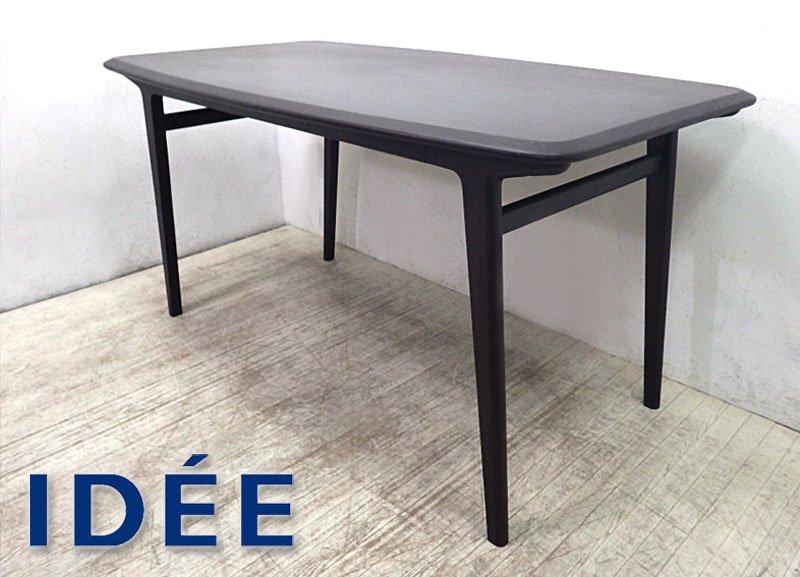 IDEE / イデー ★ 「 e by IDEE 」 シリーズ ★ 『 IKI DINING TABLE / イキ ダイニングテーブル ( オーク材 ・ ダークブラウン )…
