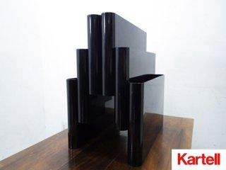 kartell / カルテル ポスタリビステ マガジンラック ブラック ●