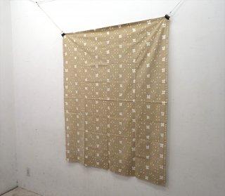 "marimekko / マリメッコ ""kukkaketo / クッカケト"" 希少ビンテージファブリック レアカラー:ベージュ 123x150cm ●"
