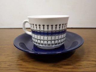 UPSALA EKEBY / ウプサラエクビイ GEFLE / ゲフレ SMIDE / スミデ Tee カップ&ソーサー ブルー◇