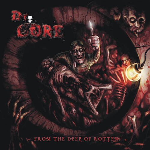 dr gore from the deep of rotten cd はるまげ堂レコードショップ