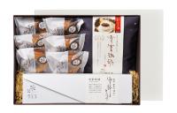 雪室珈琲ドリップ+カステラ+ドーナツセット[オリジナルブレンド1袋+カステラ1本+ドーナツ6個]│送料込