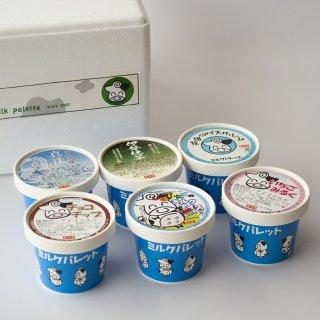 牧場のアイスクリーム6個